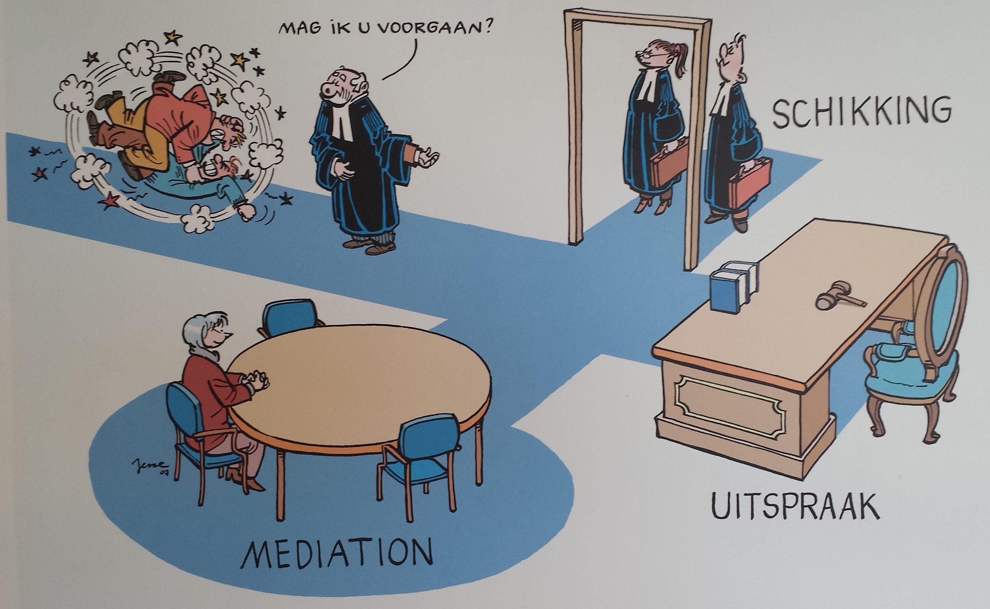 2017 visie nota van rechters, mediation bij (v)echtscheiding , Feenstra-Mediation